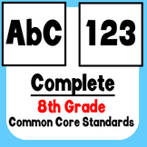 *Checklist* 8th Grade ELA & Math - Common Core State Standards CCSS