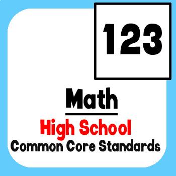*Checklist* High School Math - Common Core State Standards CCSS