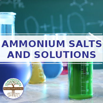 (Chemistry) AMMONIUM SALTS AND SOLUTIONS - FuseSchool - Video Guide