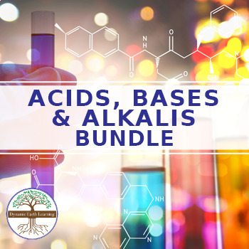 (Chemistry) Acids, Bases and Alkalis - BUNDLE - FuseSchool - 22 Video Guides