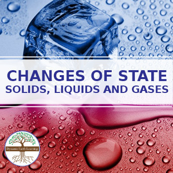 (Chemistry) CHANGES OF STATE-  Solids, Liquids and Gases