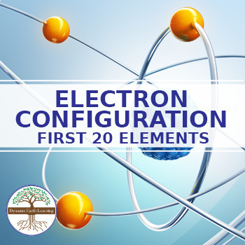 First 20 elements teaching resources teachers pay teachers electron configuration of the first 20 elements fuseschool urtaz Images