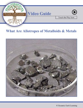 (Chemistry) Metallic Bonding: WHAT ARE ALLOTROPES OF METALLOIDS AND METALS