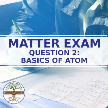 (Chemistry) Matter Exam Question 2 Video Guide -  Solids, Liquids and Gases