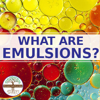 (Chemistry) WHAT ARE EMULSIONS? -  Solids, Liquids and Gases