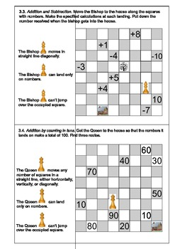 """ Chess and Maths "". Part 3"