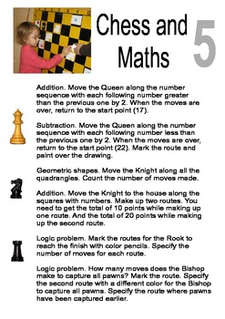 """"""" Chess and Maths """". Part 5"""