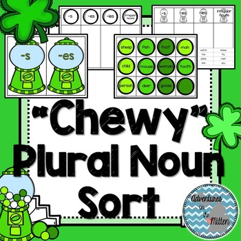"""""""Chewy"""" Plural Noun Sort"""