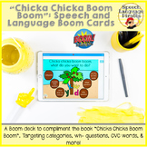 """Chicka Chicka Boom Boom"" Speech and Language: Boom Cards"