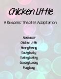 """Chicken Little"" Readers' Theater"