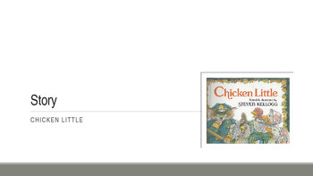"""""""Chicken Little"""" Vocabulary PowerPoint"""