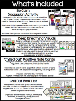 """Chill Out"" Behavior Regulation Toolkit"