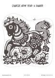 # Chinese New Year 2014 Printables for ESL Lessons 1st-5th Grades