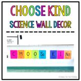 """Choose Kind"" Element Tile Wall Decor"