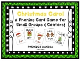 """Christmas Carol!"" - Phonics Game BUNDLE (letters, CVC, bl"