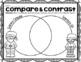 ***Christmas Compare & Contrast Venn Diagram Worksheets Winter Bundle***