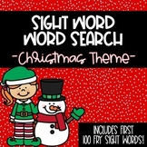 -Christmas- Sight Word Word Search