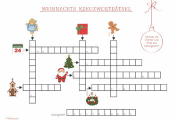 """""""Christmas in Germany""""-package: PPP, Flashcards, worksheets - vocab & culture"""