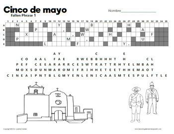 ¡Cinco de mayo! Fallen Phrase for the Battle of Puebla