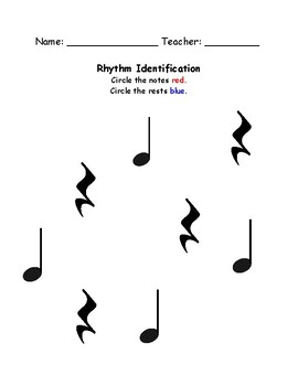 """Circle the Rhythm"" Identification Bundle"