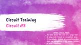 Circuit Training: Hamstrings, Quadriceps & Glutes (Onlin