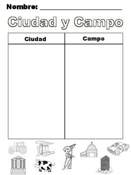 ¿Ciudad o Campo?