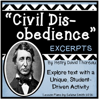 """Civil Disobedience"" by Henry David Thoreau"