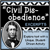 """""""Civil Disobedience"""" by Henry David Thoreau"""