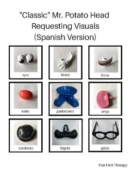 """Classic"" Mr. Potato Head  Requesting Visuals - Spanish Version"