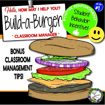 {Classroom Management} Build-a-Burger: Positive Student Behavior Incentive!