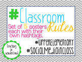 #Classroom Rules for the Upper Elementary
