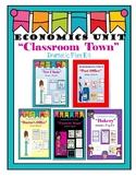 "Economics ""Classroom town"" dramatic play"