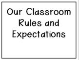 #ClassroomRulesAndExpectations