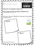 """Clean Gut"" by Alejandro Junger  M.D.  (Philosopher's Notes Worksheet)"