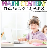 "Digital Math Center: Click and ""Chews"" Grade 1.OA.B.3"