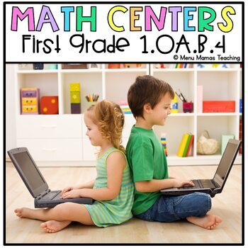 "Digital Math Center: Click and ""Chews"" Grade 1.OA.B.4"