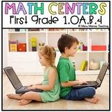 "Digital Math Center: Click and ""Chews"" Grade 1.OA.B.4"