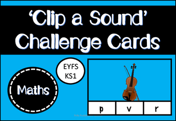 Clip a Sound Challenge Cards