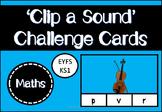 Clip a Sound Challenge Cards