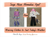 'Clothes' Indonesian Story and Questions