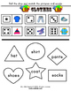 'Clothes' Worksheet Set / Activity Pack + Flashcards