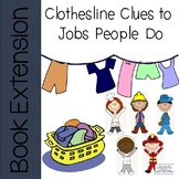 """""""Clothing Clues to Jobs People Do"""" Book Activities"""
