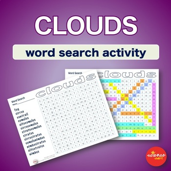 * Clouds * Warm Up * Bell Ringer * Vocabulary * WordSearch *