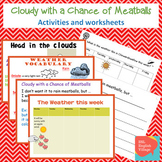 Cloudy with a Chance of Meatballs PowerPoint and activity