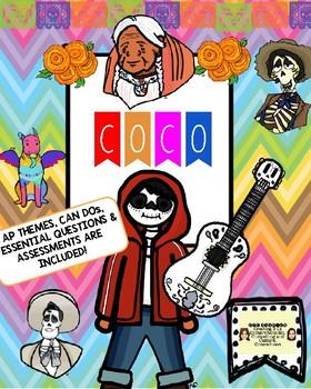 """""""Coco"""" Film Guide for Intermediate Students"""
