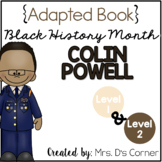 Colin Powell - Black History Month Adapted Book [Level 1 a