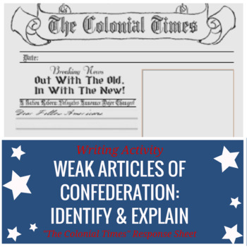 """""""Colonial Times"""" Writing: Justify Replacing The Weak Articles"""