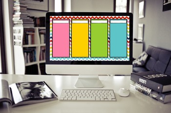"""Color Brights"" Desktop Organizer (customizable)"