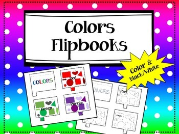 """Color"" Flapbooks / Lapbook / Center"