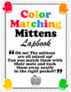 'Color Matching & Sorting Mittens Lapbook' Printable